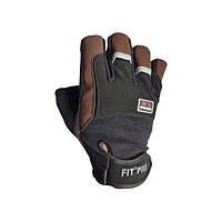 Power System, Перчатки FIT PRO Fitness X1 PRO FP01 коричневые
