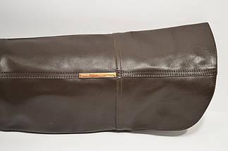 Сапоги коричневые демисезонные Kluchini 3403, фото 2