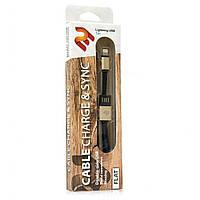Кабель 2E USB 2.0 Lightning Data / Charge Dual Metal 1m, Gold (2E-CCTI13M-1G)