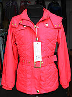 Куртка-плащ весна-осень для девочки.