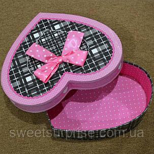 Подарочная коробка в виде сердца, фото 2