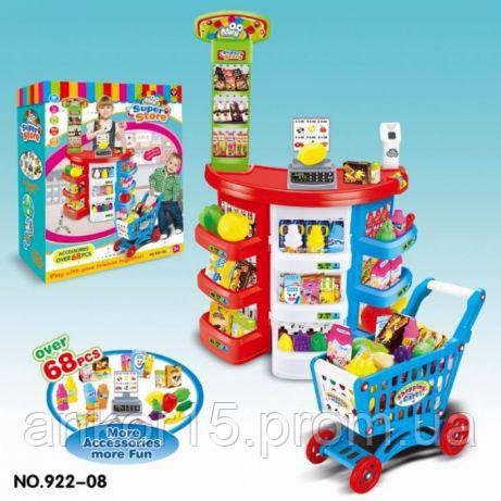 Дитячий магазин супермаркет 922-08, ігровий набір.