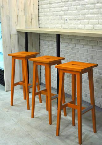 Барные стулья оранжевые, фото 2