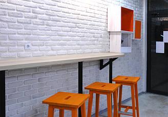 Барные стулья оранжевые, фото 3