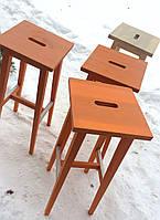 Барные стулья оранжевые