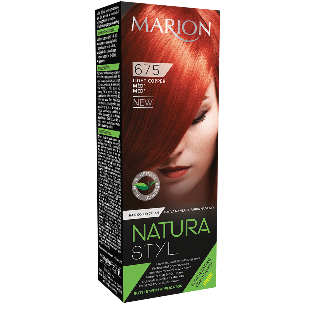 Фарба для волосся Marion Natural Styl 675 Мідь 40/40/10 мл (4118035)