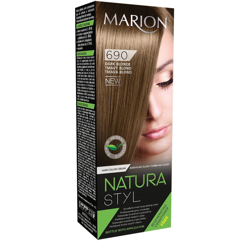Фарба для волосся Marion Natural Styl 690 Темний блонд 40/40/10 мл (4118036)