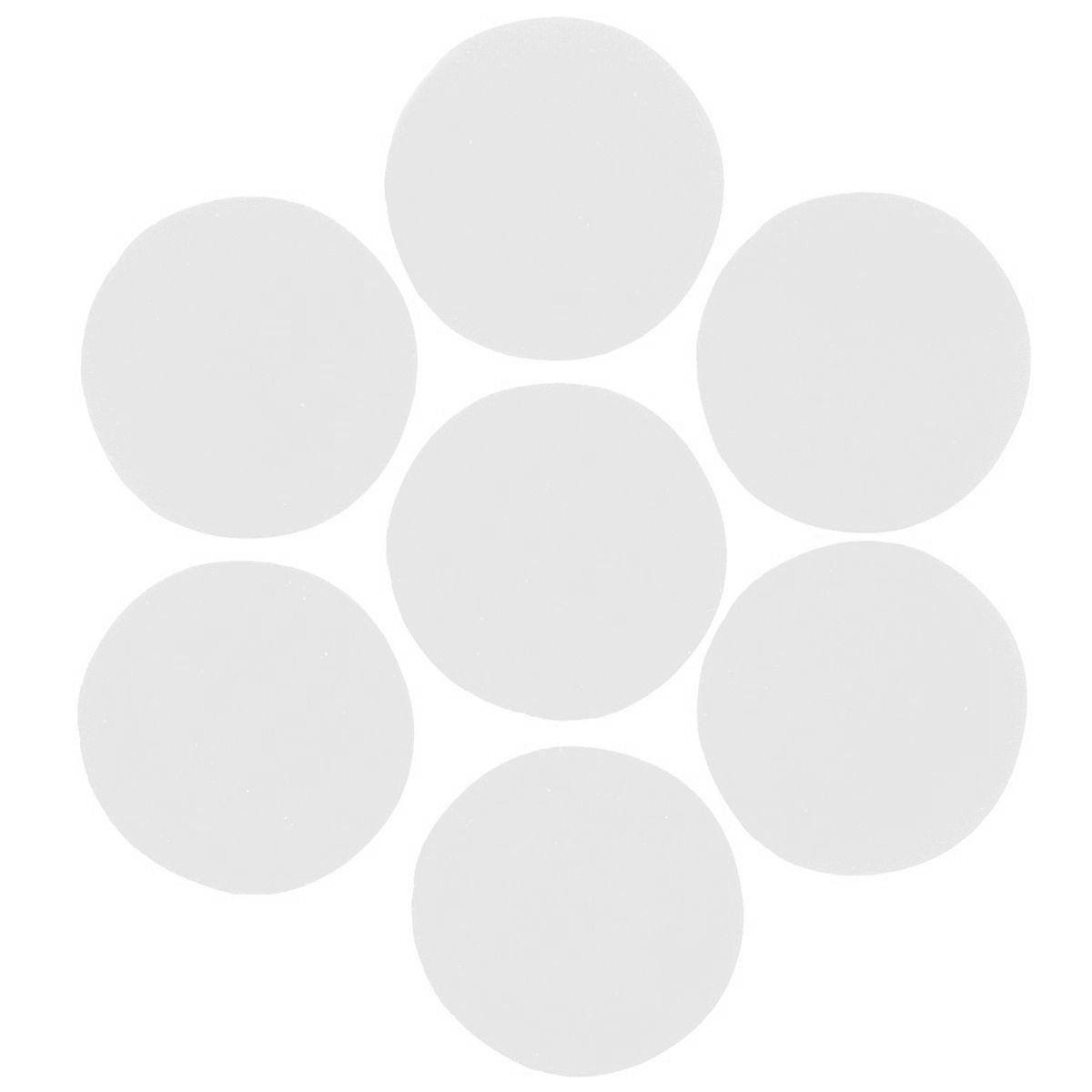 Конфетти кружочки белые 23мм, 1кг