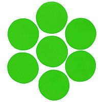 Конфетти кружочки зеленые 23мм, 1кг