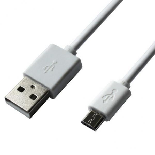 Кабель Grand-X USB-micro USB PM01W 2,1A, 1m