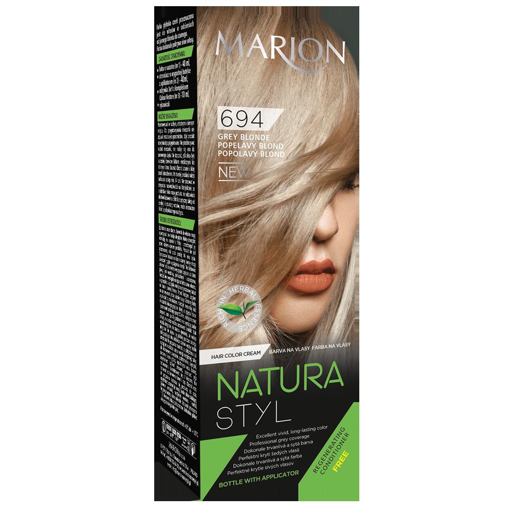 Фарба для волосся Natural Styl Попелястий блонд