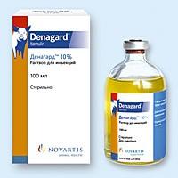 Денагард 10% 100 мл Novartis (Словения) высокоэффективный современный ветеринарный антибиотик
