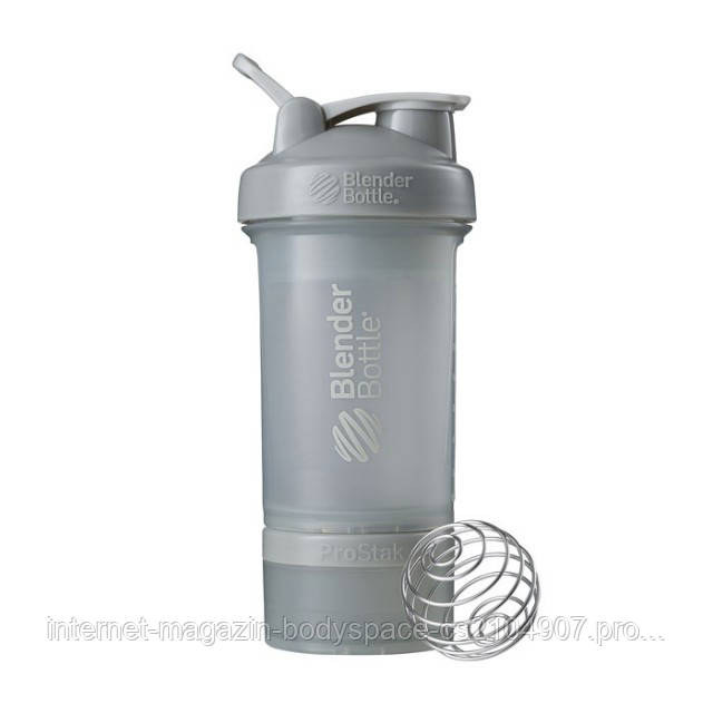 Blender Bottle, Спортивный шейкер BlenderBottle ProStak Pebble, 650 мл