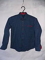 """Рубашка подростковая на мальчика с длинным рукавом (12-16 лет) """"Prest"""" RS2-5034"""