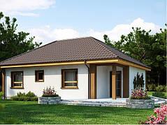 Площадь дома 100-150 м2