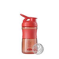 Blender Bottle, Спортивный шейкер-бутылка BlenderBottle SportMixer Coral, 500 мл, фото 1