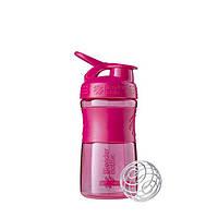 Blender Bottle, Спортивный шейкер-бутылка BlenderBottle SportMixer Pink, 500 мл, фото 1