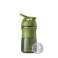 Blender Bottle, Спортивный шейкер-бутылка BlenderBottle SportMixer Moss, 500 мл, фото 1