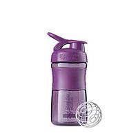 Blender Bottle, Спортивный шейкер-бутылка BlenderBottle SportMixer Plum, 500 мл