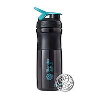 Blender Bottle, Спортивный шейкер-бутылка BlenderBottle SportMixer Teal/Black, 760 мл, фото 1
