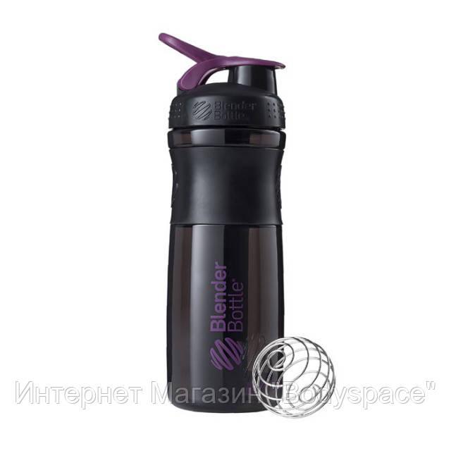 Blender Bottle, Спортивный шейкер-бутылка BlenderBottle SportMixer Plum/Black, 760 мл