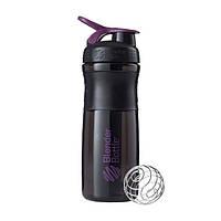 Blender Bottle, Спортивный шейкер-бутылка BlenderBottle SportMixer Plum/Black, 760 мл, фото 1