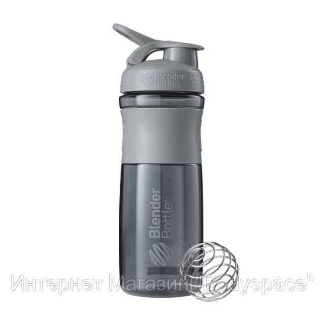 Blender Bottle, Спортивный шейкер-бутылка BlenderBottle SportMixer Pebble, 760 мл
