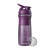 Blender Bottle, Спортивный шейкер-бутылка BlenderBottle SportMixer Plum, 760 мл, фото 1