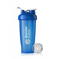 Blender Bottle, Спортивный шейкер BlenderBottle Classic Loop Blue, 760 мл