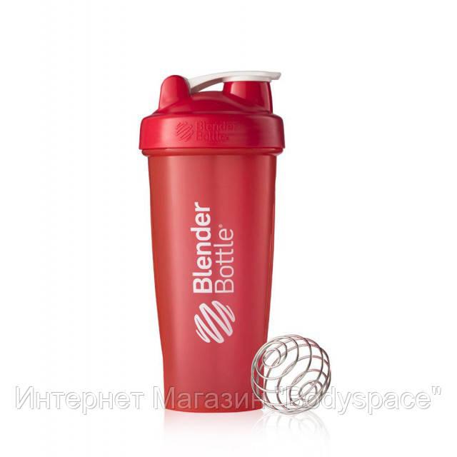Blender Bottle, Спортивный шейкер BlenderBottle Classic Red, 760 мл