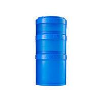 Blender Bottle, Контейнер Prostak Expansion Starter 3 Pack Blue