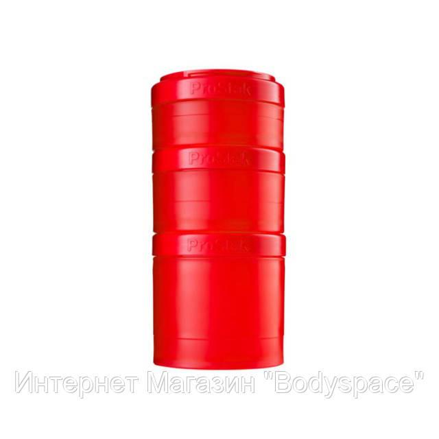 Blender Bottle, Контейнер Prostak Expansion Starter 3 Pack Red
