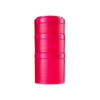Blender Bottle, Контейнер Prostak Expansion Starter 3 Pack Pink