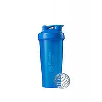 Blender Bottle, Спортивный шейкер BlenderBottle Classic Cyan, 760 мл