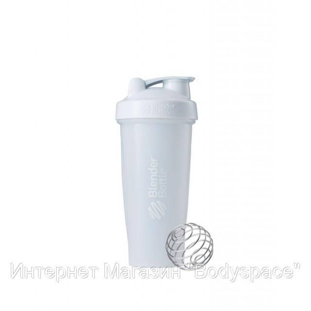 Blender Bottle, Спортивный шейкер BlenderBottle Classic White, 760 мл