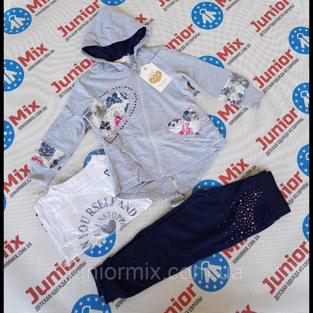 Модный  детский спортивный костюм  для девочек оптом BBW kids