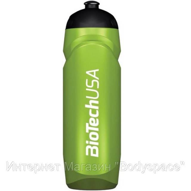 Biotech USA, Бутылка для воды Sports Water Bottle Green, 750 мл