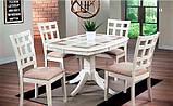 Стол обеденный раскладной T-14317 BM, фото 5
