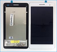 Дисплей (экран) для Huawei T1 (T1-701u) 7.0 3G MediaPad + тачскрин, цвет белый #TV070WSM-TH1