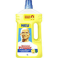 """Meister Proper Allzweckreiniger Citrusfrische - Mr.Proper жидкость моющая для уборки """"Лимон"""", 900 мл, Чехия"""