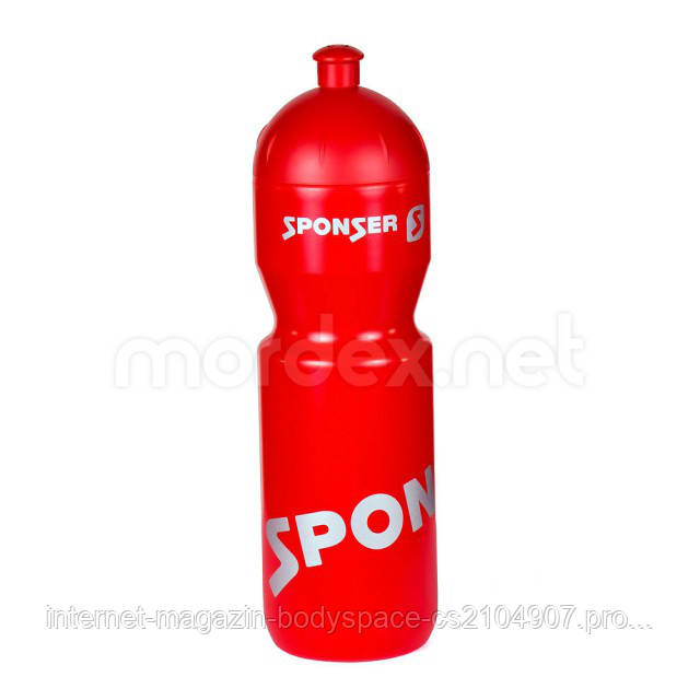 Sponser, Спортивная бутылка Sport Bottle Red,750 мл