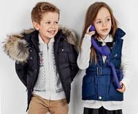 Верхняя детская одежда (ветровки, жилетки, пиджаки, куртки) в наличии