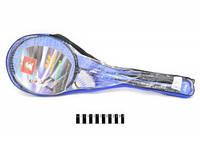 Бадмінтон (чехол) BD1707 2 ракетки+воланчик