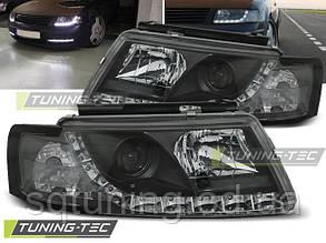 Фары VW PASSAT 5B 3B 11.96-08.00 DAYLIGHT BLACK