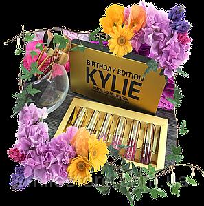 Набор помад Кайли - Kylie Birthday Edition
