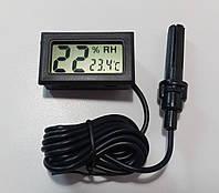 Термометр-гигрометр цифровой WSD -12 (с выносным датчиком), фото 1