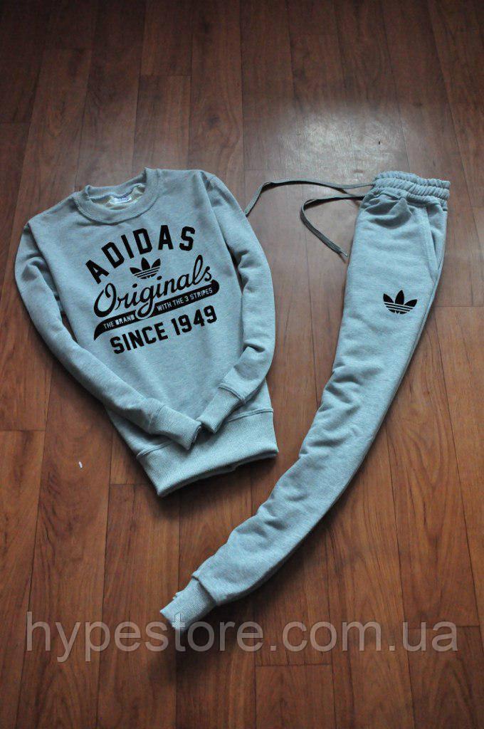 9ac30f0cd5be Спортивный Костюм Adidas Originals Since 1949 (серый), Реплика — в  Категории
