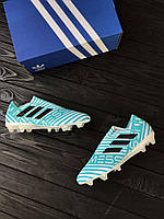 Бутсы без шнурков adidas NEMEZIZ MESSI 17+ 360 AGILITY FG