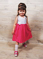 Детское летнее платье ( от 1,5 года до 9 лет)