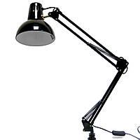 Настольная лампа для светодиодной лампочки с креплением к столу Е27 WT074ч
